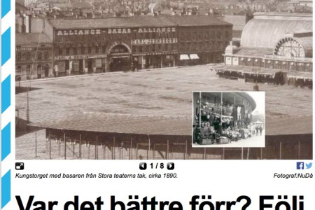 Recension i Göteborgs Tidningen 22 maj 2015